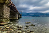 Pagasetic gulf, Greece (Marios Krokidis) Tags: gr nature greek camera lens serene clouds sky nikon nikkor stones blue sea landscape field outdoor water out view volos mountain rock outside