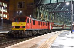 DBC/VTEC - 90036 'Driver Jack Mills' - London King's Cross (Transport Tim) Tags: 90036 dbschenker dbs