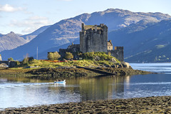 Castle Eilean Donan (Kev Gregory (General)) Tags: eilean donan recognised iconic images scotland world situated island point three great sea lochs meet surrounded some majestic scenery wonder castle visited important attraction scottish highlands first inhabited 6th century fortified built mid 13th stood guard over lands kintail versions feudal history unfolded centuries destroyed jacobite uprising ruins lieutenant colonel john macraegilstrap bought restore former glory constables kev gregory canon 7d