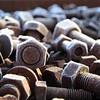 altes Eisen (honiigsonne) Tags: screw bolt iron old rust rusty ice winter schraube schrauben eisen altmetall rostig rost eis schnee schrott outside