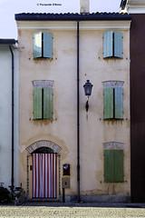 Finestre - Cesenatico (Pasquale D'Anna) Tags: palazzo abitazioni finestre colori