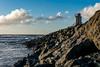 Fog Horn (KnightedAirs) Tags: nikon d5200 nikkor 35mm afs dx bandon beach oregon coast sky sunset dusk landscape coastal sun cloud clouds sand