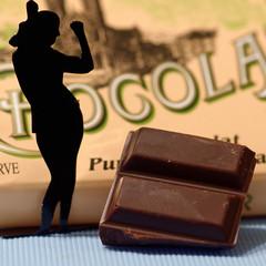 La Femme Chocolat (Dr Pitch) Tags: macromondays inspiredbyasong femmechocolat chocolatbonnat