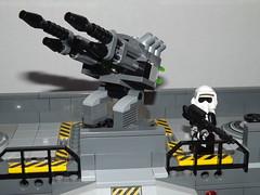 DSCF2259 (Nilbog Bricks) Tags: star wars lego moc minifigures stormtrooper base barracks