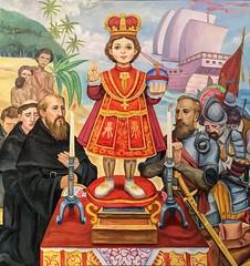 Santo Niño de Cebu (Lawrence OP) Tags: sanagustin manila painting santoniño magellan christ jesus holychild