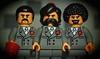 the brotherhood of the cruciform sword (legophthalmos) Tags: lego kazim indiana jones holy grail