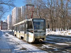 Moskau (RUS) (Robert Leichsenring) Tags: moskau москва moscow russia russland россия трамвай tramway strassenbahn streetcar strasenbahn