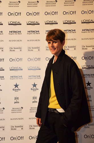 Stella Tennant at the Oxfam #fashionfightingpoverty Gala Show