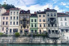 Ljubljana, Slovenia (german_long) Tags: slovenia ljubljana eslovenia ljubljanica river city balcanes balcans buildings