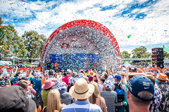Winner's Tickertape (Serendigity) Tags: stage6 tourdownunder 2017 australia race sa southaustralia adelaide tdu cycling event