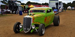 photo by secret squirrel (secret squirrel6) Tags: 1934 secretsquirrel6truckphotos craigjohnsontruckphotos tooradin hotrod paint colourful clever nice flames 2015 january