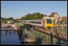 NMBS 4177 + 4128 - L 769 (Spoorpunt.nl) Tags: juni 7 gent trein 41 mw 2015 spoorbrug nmbs 769 4177 4128 draaibrug wiedauwkaaibrug muidegebied