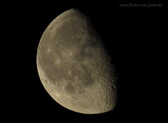 (johanqf) Tags: moon white lune dark mond solar space satellite luna craters relief crater astronomy universe astronomia lunar closer satelite astronomie  satelit