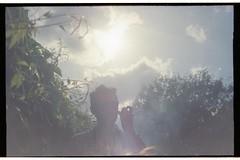 img008 (j thorn explains it all) Tags: boy sky cloud sun guy film sunglasses 35mm photo lomo lomography drink outdoor border grain joe bbq serene backlit analogue hazy raybans joshthornton
