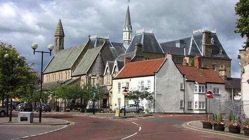Town Hall, Bishop Auckland, Co.Durham, England, UK, 8/2009