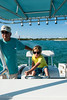First Mate Campbell takes the helm (Ben McLeod) Tags: ocean water boat neil bahamas campbell abacos elbowcay