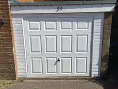 Front door and garage door in Hassocks