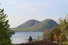 Evidence of Ice (daveynin) Tags: mountain lake water pond nps maine acadia deaftalent deafoutsidetalent deafoutdoortalent