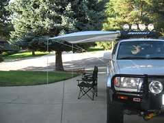 Shady Boy Awning on Toyota 4Runner 4