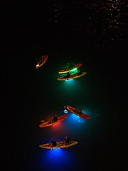 Glowing Canoes (dons projects) Tags: blue red summer people canada black green water colors yellow night vancouver dark lights golden colorful glow colours bc britishcolumbia july olympus canadian canoe nighttime canoes glowing englishbay nightscene colourful vancouverbc 45mm 43 paddles 2015 m43 em10 mft fourthirds seeninvancouver zps zonerphotostudio microfourthirds 43 m45mm olympusmzuiko45mmf18 donsprojects olympusem10 olympusomdem10 omdem10