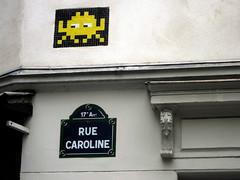 PA_728 Space invader in Paris 17th (Sokleine) Tags: street streetart paris france spaceinvader mosaics urbanart tiles rue mosaïque artderue 75017