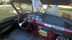 Citroen DS cabriolet 03 (benoit.patelout) Tags: paris citroen ds été vincennes anciennes traversée 2015 chapron