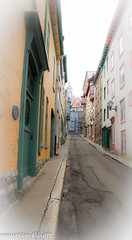 """Narrow!"" (maureen.elliott) Tags: city urban streets architecture narrow oldquebec"