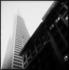 Downtown SF (RafaelGonzalez.) Tags: sanfrancisco california downtown architecture mediumformat hasselblad500cm 6x6 ilfordhp5plus analogue blackandwhite rafaelgonzalez