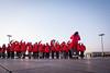 Flag Waving (China Chas) Tags: 1022mm 2017 beijing china tiananmensquare flagraisingceremony sunrise