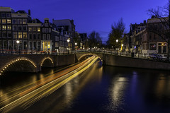 Seven bridges (jeffbrian) Tags: amsterdam 7 bridges night nightphotography nightscape longexposure netherlands bluehour