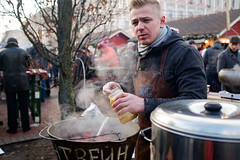 Mulled Wine 1 (mac_ivan) Tags: lads mulledwhine northface kiev boy sporty christmas boys market