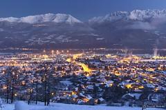 Crolles une nuit d'hiver (Nicolas Mareau) Tags: hiver darktable lanuit isère neige winter cold snow