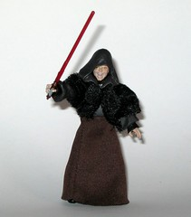 VC12 darth sidious star wars the vintage collection revenge of the sith hasbro 2010 g (tjparkside) Tags: vc12 darth sidious vc tvc 12 twelve star wars vintage collection episode 3 iii three rots revenge sith palpatine senator september 2010 wave 2 lightsaber red force lightning removable hood soft goods stole skirt yoda mace windu duel robe robes vest blue action figure figures hasbro