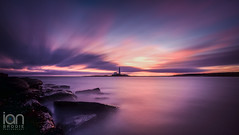 'Mary Xmas' (ianbrodie1) Tags: day christmas xmas stmarys lighthouse north sea seascape coast coastline longexposure haida 10 stop outdoor cloud colour ocean rocks nikon d750 water shore sunrise