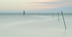 Catenary (Adeypoos) Tags: adrianpollardphotography seascape seafront seascapes motionblur water posts milky beautiful canoneos6d canon85mmf18 vibrant