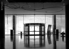 Barcellona 2981 (kingeston) Tags: kingeston nikon d7000 barcellona barcelona spagna spain museo museum bn bw bianco nero black white blanc noir architettura architecture geometry geometrie linee