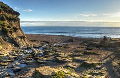 The beach at Eype Mouth, Dorset (Baz Richardson (catching up again!)) Tags: dorset eypemouth coast streams rivereype beaches shinglebeaches jurassiccoast