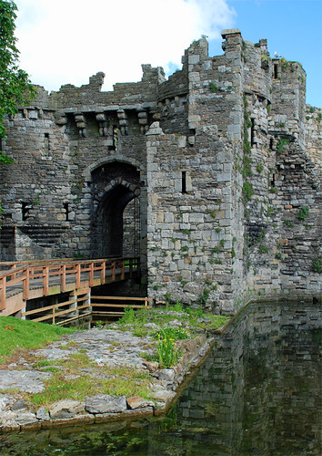 Beaumaris Castle.