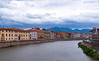 River Arno, Pisa (john weiss) Tags: fiumearno italy labckf11 lrcrop lrstraighten lrvibclar pisa places versilia edits skyarchitecture