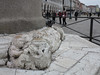 weathered carving at column base (squeezemonkey) Tags: venice italy carving column lionofstmarkcolumn rivadeglischiavoni