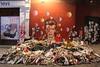 (Alberto Ameijeiras) Tags: david bowie art artist wall london music pop fans flowers ziggy stardust