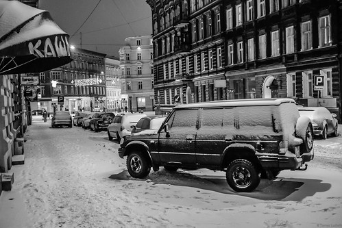 Hyundai Galloper, street Stettin-Szczecin, Poland.
