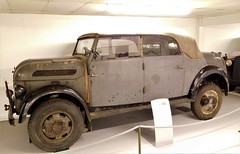 Steyr 1500A Kommandeurwagen (Grumman G1159) Tags: steyr1500a kommandeurwagen german wwii militaryvehicle allterrainvehicle donington wheatcroftcollection