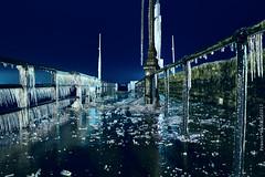 L'embarcadaire d'Yvoire sous la Glace 1 (Franck Baduel) Tags: léman arctique polaire glace tempète yvoire evian