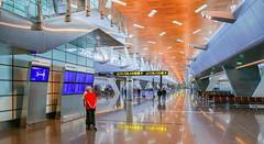 Hamad International Airport, Doha, Qatar (Gösta Knochenhauer) Tags: p9080767nik p9080767 nik 2017 february hamad international airport doha qatar panasonic lumix fz1000 dmcfz1000 hdr