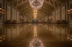Lobby Reflection (My Shutter World) Tags: fullertonbayhotel marinabay singapore laowa laowa12mm venusoptics architecture interior reflection sony sonya7r2