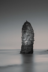 Stacked (dannyhow2011) Tags: flamborough flamboroughhead flamboroughlighthouse seascape sea seaside longexposure mono blackandwhite coast eastcoast eastyorkshire