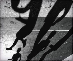 With the Shadows (Steve Lundqvist) Tags: sports play persone sport squadra team shadows basket pallacanestro shadow blackandwhite bw fujifilm x100s explore court light pov angle boys basketball nba abstract texture dof figure figures