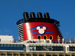 Port Canaveral, FL (Rusty Clark) Tags: chimney mickey mouse smoke stack