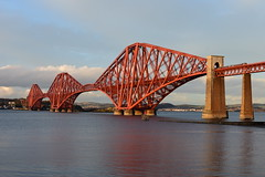 Cantileverage (beqi) Tags: 2017 architecture bridge forthbridge ironwork railway southqueensferry train forth